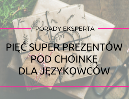 Pięć najlepszych prezentów pod choinkę dla miłośnika języków obcych