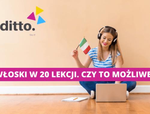 Włoski online – czy można nauczyć się języka w 20 lub 40 lekcji?