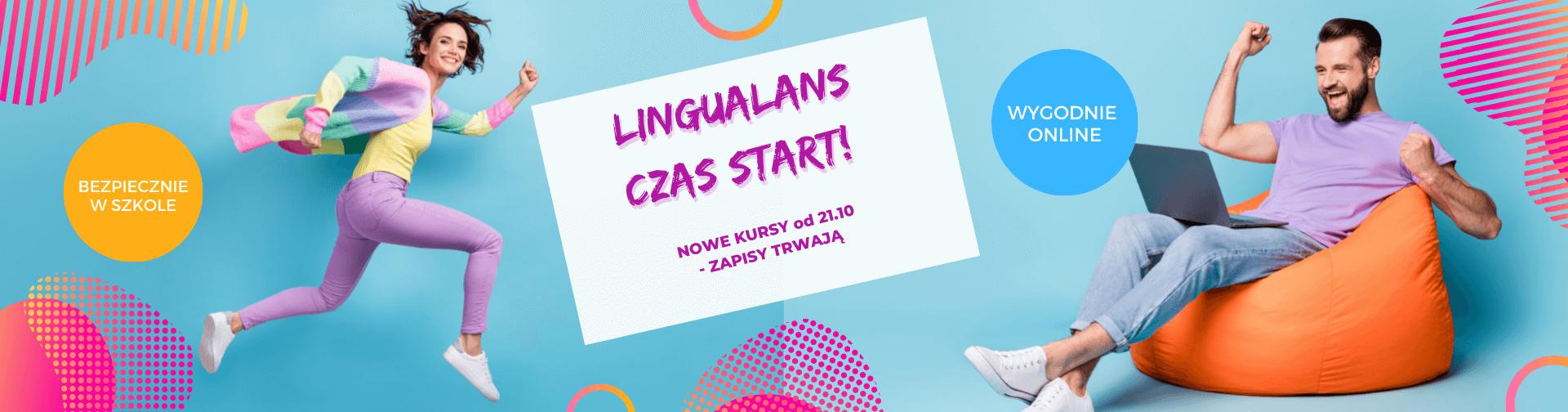 Szkoła Języków Obcych Lingualand - pora na wakacyjny Lingualans